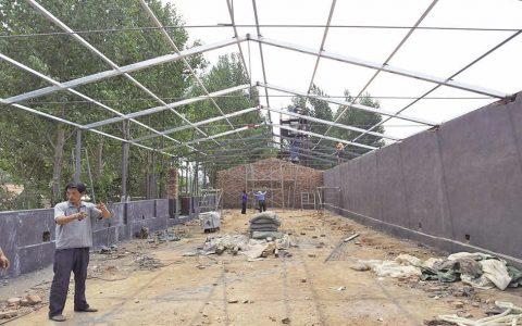 羊舍的建设羊舍的基本结构